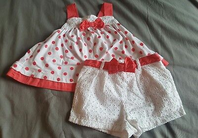 baby girls 12-18 month summer outfit