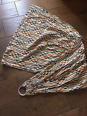 African Print Ring Sling Wrap Baby Carrier