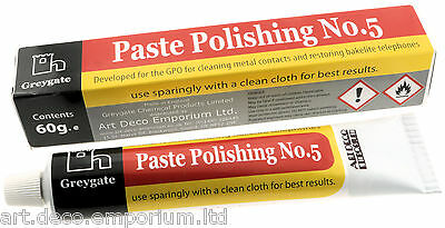 Hard Plastic & Vintage Bakelite Restoration and Polishing Paste 60g Tube