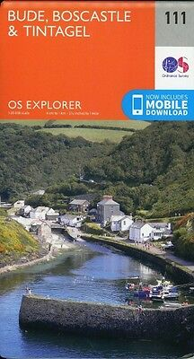 Bude, Boscastle and Tintagel 1 : 25 000-NEW-9780319243121