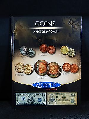 Morphy Auction Catalog Coin Auction April 21, 2016 BRAND NEW