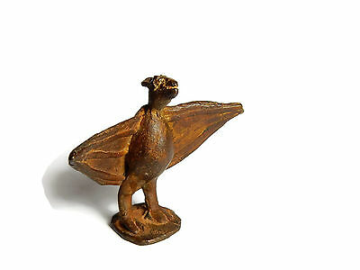 Rare Antique African Bronze Ashanti Gold Weight a bat