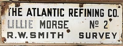 The Atlantic Refining Company PORCELAIN Sign - Gas/Oil