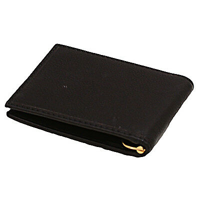 Paul&Taylor Mens Leather Front Pocket Money Clip Wallet RFID Protection