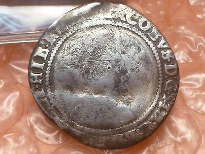 James I Irish Silver Sixpence 1613-1615 RARE #B