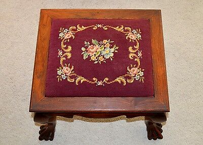 Antique Chinese Export Huanghuali Rosewood Stool