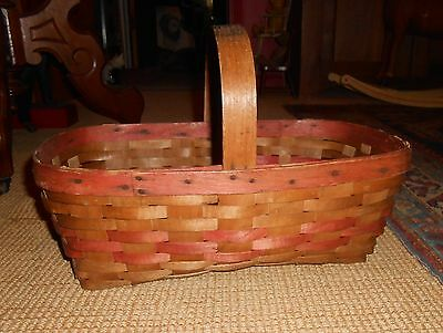 Antique Kroger Grocery Store Basket Ca 1920-30's