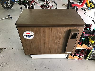 Vintage Pepsi cooler Cornelius co 50 cent model 188852a71 vending machine