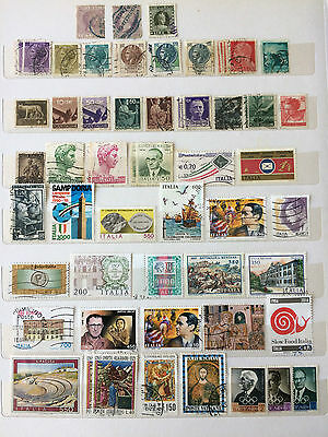 ITALY Small collection from various era's includes 2 x Vatican 3 x San Marino
