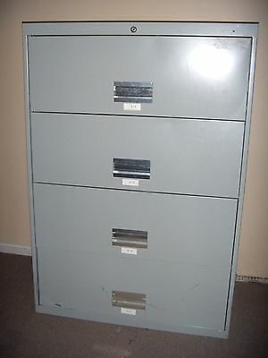 4 Drawer Steel Lateral File Filing cabinet 36 Inches Wide