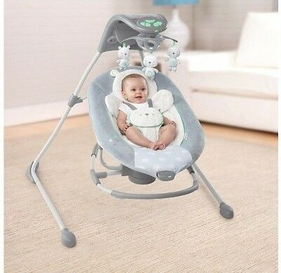 Baby Rocker and Swing Ingenuity Infant Newborn Cradling Seat Portable Bouncer