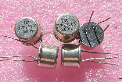 5 PCS Zetex ZVP2220B 200V 0.15A 12 Ohm P-channel Power MOSFET TO-39