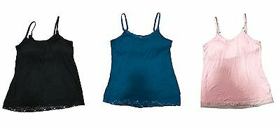 3 Pieces Bump In The Night Nursing Tank Top With Build In Bra Large