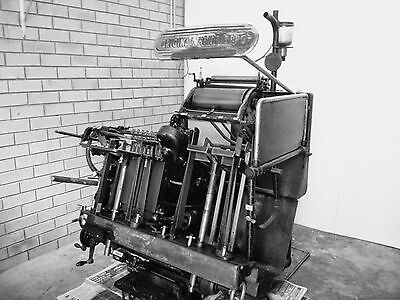 Heidelberg Windmill T Platen 10x15 Single Phase! PLUS printing essentials