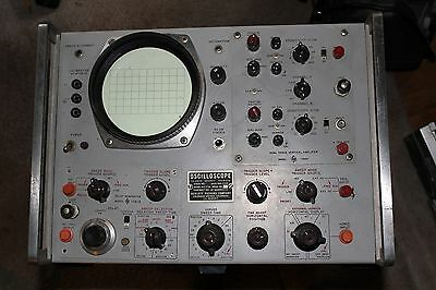 Vintage Hp 175A Oscilloscope No Vacuum Tubes Was Working