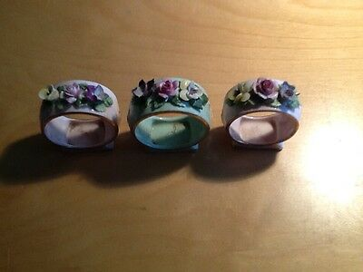 collectable antique napkin rings.