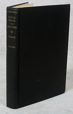 1929 Devils Drugs and Doctors Haggard Harper Bros 1st Edition Science of Healing