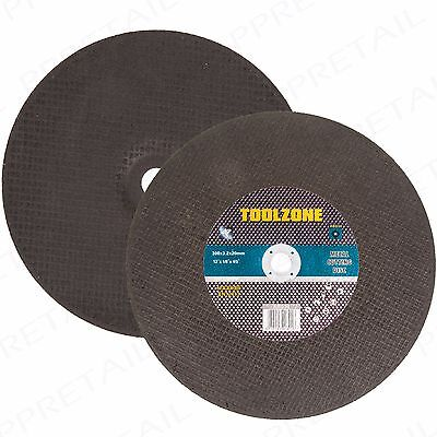 """12""""/300mm Cutting Disc Metal/Stainless Steel Cutter HEAVY DUTY Grinder Flat Disk"""