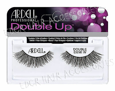 Ardell Double Up Demi Wispies Thick - False Eyelashes 100% Natural Hair THE BEST