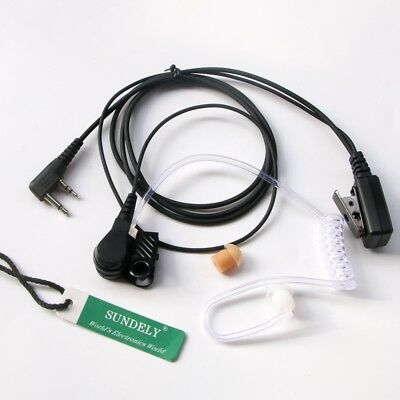 Earpiece/Headset Acoustic Tube For GME UHF CB Radio TX630/TX670/TX680 L-Shape