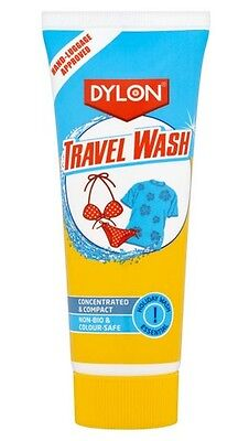 Dylon Travel Wash Conc 75Ml Hand-Luggage Approved Non - Bio & Colour Safe