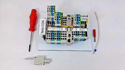 Wieland DIN Rail Terminal Block Connection with Tension Spring Fasis CON KIT