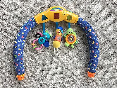 Evenflo Exersaucer Arch Lights Sounds Interactive Switch A Roo Toy Replacement