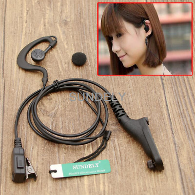 Brand New Clip Ear Hook Headset/Earpiece Mic For Motorola Radio DP3400 DP3401