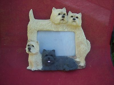 Cairn Terrier Large Photo Frame