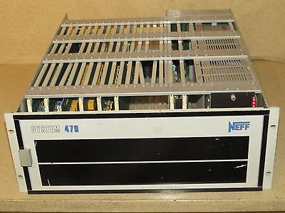 Neff System 470 Data Acquisition Unit W/ Modules (A)