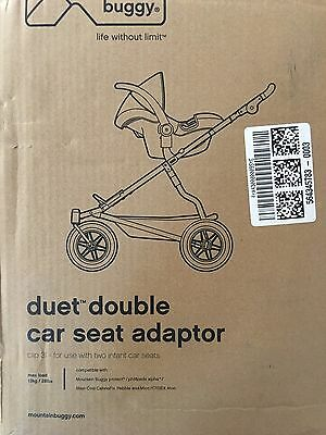 Mountain Buggy Duet Double Car Seat Adaptor Clip 31 for 2 infant car seats