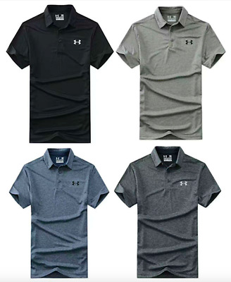 NEW UNDER ARMOUR MEN'S Tight Shirt HEAT GEAR GOLF SHIRTS SZ S/M/L/XL/2XL/3XL NWT