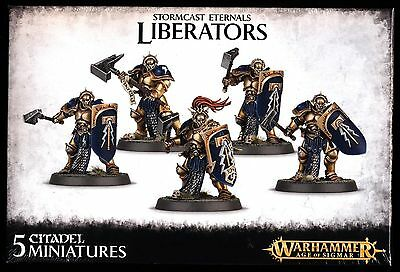 Warhammer Age of Sigmar Stormcast Eternals Liberators New/Sealed