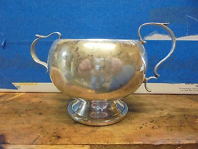 Sterling Silver sugar bowl, use or scrap. Shreve Crump and Low, 116 grams