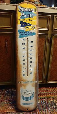 Luminall Satin Paints Wall Thermometer (Working) - Free Ship