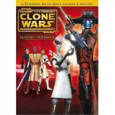 Star Wars - the Clone Wars - Saison 1 - Part 4 - French Import  DVD NUOVO