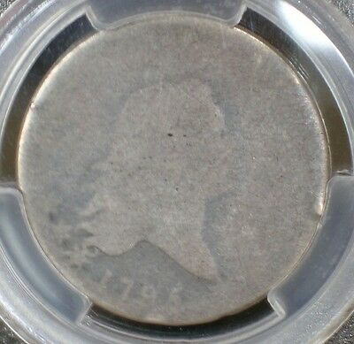 1795 Flowing Hair Half Dollar Fifty Cent 50C 2 Leaves PCGS PO01 PO1 P01 Poor