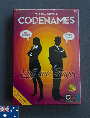 *Genuine* Codenames - Family Card/Board Game