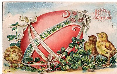 Early 1900's  Easter Greetings Postcard - Selling Lot Of Cards
