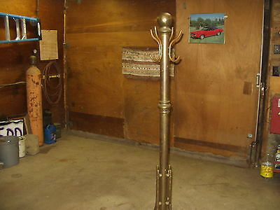 "Vintage brass Hall tree coat stand ""Look"""