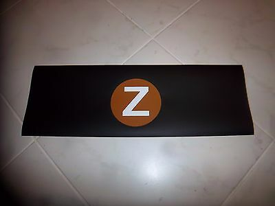 """Collectible Nyc Subway R-32 Side Route Roll Sign """"z"""" Ny Urban Home Loft Wall Art"""