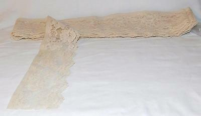 Vintage Trim Lace Edging Ribbon 5 Yards 7 Inches (295 Inches)
