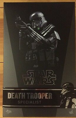 Star Wars Death Trooper Specialist Hot Toys MMS385 1:6 Scale Action Figure NIB
