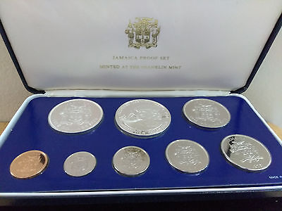 1975 Jamaica Silver proof Set