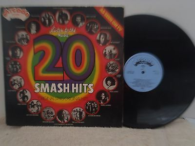 VARIOUS ARTISTS - LP -  LISTEN TO THE MUSIC 20 SMASH HITS - 1970's