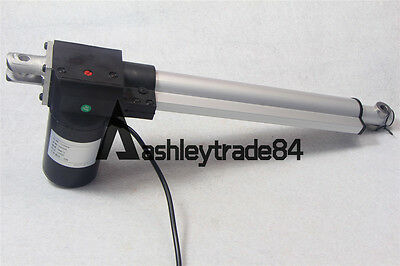 New Linear Actuator Motor 250mm Stroke Heavy Duty Max Thrust 6000N DC 12V