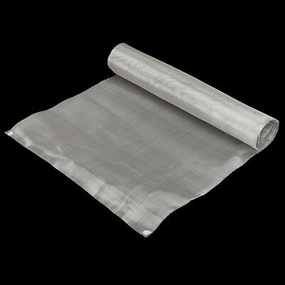 40 x 90cm Stainless Steel 50 Mesh 304 Silver Filtration Woven Wire Cloth Screen
