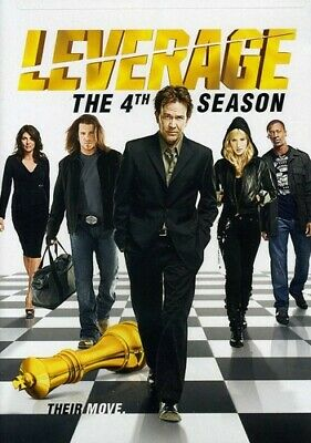 Leverage - Leverage: The 4th Season [New DVD] Boxed Set, Dolby, Subtitled, Wides
