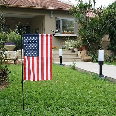 1Pcs Wrought Iron Garden Flag Stand Residential 14.9x39.3 sleeved vertical Flag