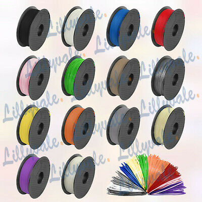 3D Printer Filament PLA/ABS - 1.75mm -1KG - Various Colours Available